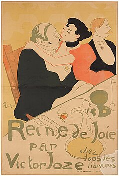 """266. Henri de Toulouse-Lautrec, """"Reine de Joie""""."""