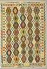 A carpet, kilim, ca 302 x 207 cm.