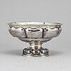 A silver bowl, swedish import marks, stockholm 1919.