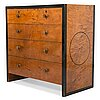 Antti salmenlinna, a 1930s chest of drawers, 'nr 1',  for asko, lahti, finland.