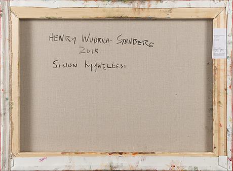 """Henry wuorila-stenberg,""""yourtears""""."""