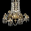 An oscarian chandelier from around 1900.