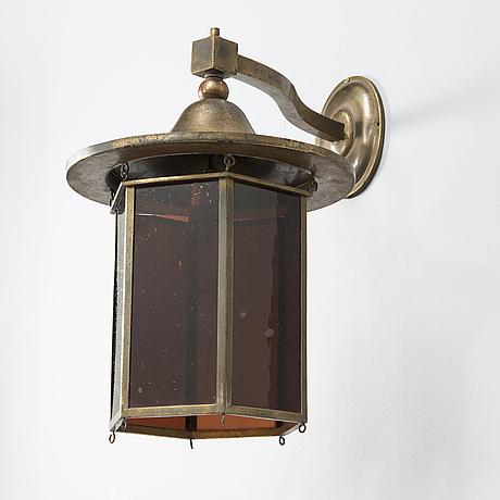 Eliel saarinen, a 1920's wall light for the finnish state railways.