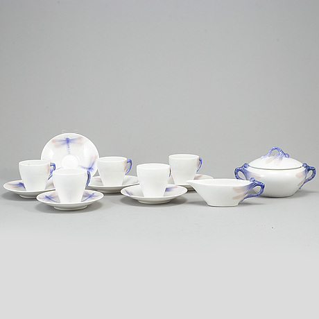 A coffee service by alf wallander for rörstrand.