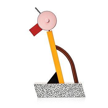 """12. Ettore Sottsass, a """"Tahiti"""", table lamp, Memphis, Milan, post 1981."""