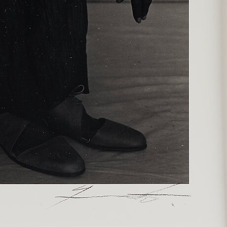 Yoshihiko ueda, fotografi signerad.