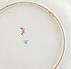 A vienna porcelain dish, 18th century.