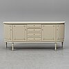 A late 20th century gustavian style sideboard.