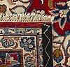 An old keshan carpet ca 366 x 258 cm.