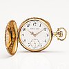 Pocket watch, robt. p. kiep, 14k gold. 32 mm.