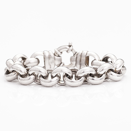 Armband, sterling silver.