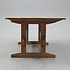 A pine table, second half of the 20th century.