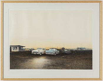 ULF WAHLBERG, lithograph in colours, 2000, signed 36/250.