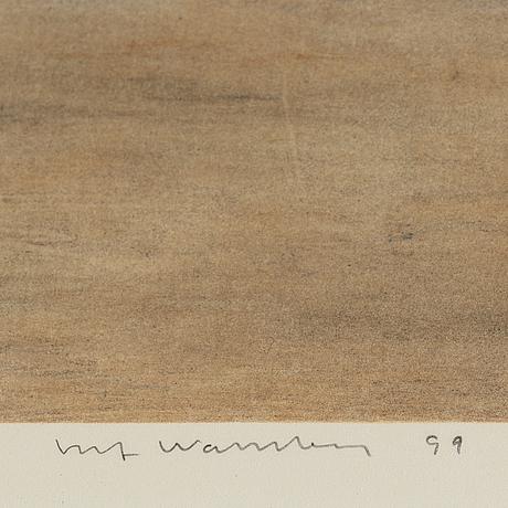 Ulf wahlberg, färglitografi, 1999, signerad 154/230.