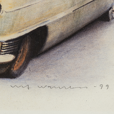 Ulf wahlberg, färglitografi, 1999, signerad 19/240.
