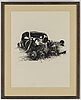 Ulf wahlberg, lithographs, 2, 1976, 2001, signed 191/320, 248/295.