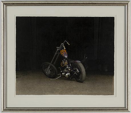 John-e franzÉn, färglitografi, 1997, signerad 107/250.