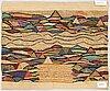 Pirjo hopea, textile. circa 101 x 82 cm.