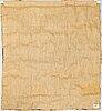 Pirjo hopea, textile, 151 x 139 cm.