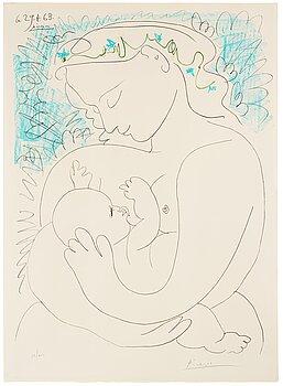 """279. Pablo Picasso After, """"Maternité""""."""