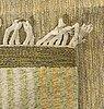 A scandinanvian flat weave carpet ca 242 x 120 cm.
