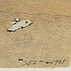 John-e franzÉn, lithographs in colour, 2, 1998, signed 101/320, 93/320.