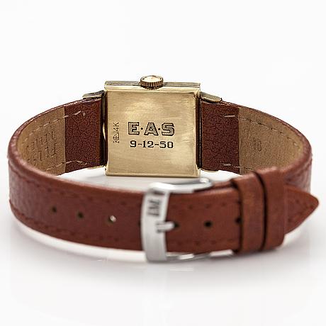 Longines wristwatch, 20 x 21 mm.