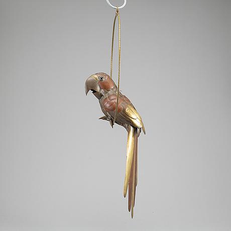 Sergio bustamente, attrubuted to, sculpture, brass and copper, around 1970.
