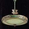 A 1920/30's ceiling lamp.