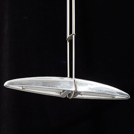 Jorge pensi, an 'olympia' pendant light from b-lux, 1990's.