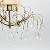 Paavo tynell, a mid-20th century chandelier for idman. finland.