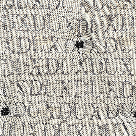 Bruno mathsson, upholstry for a 'jetson' easychair from dux.