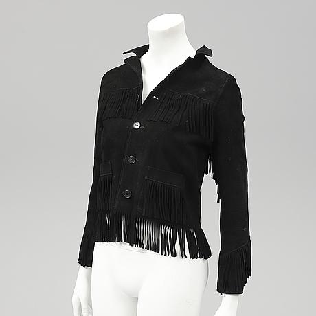 Saint laurent, jacket, french size 34.