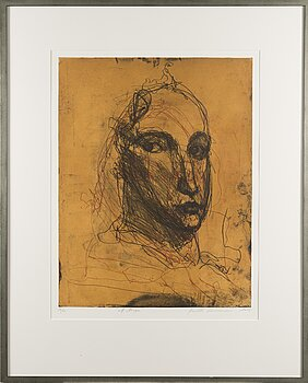 KUUTTI LAVONEN, etching, signed and dated 2015, numbered.