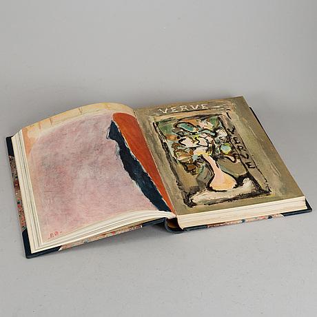 Verve catalogues volume 1, bound together no. 3-6, 1938-1939.