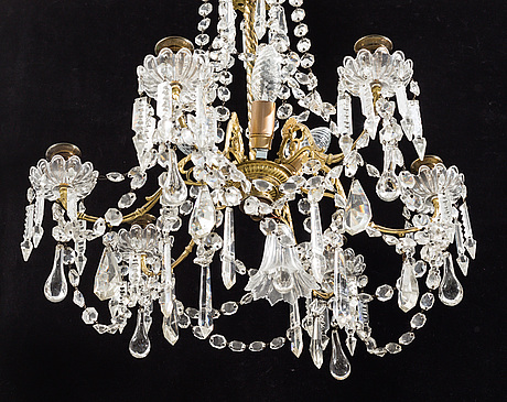 A first half of the 20th century chandelier.