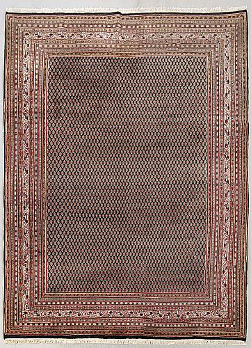 An old bidjar carpet ca 345 x 250 cm.