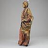 Skulptur, snidat trä, 1700-tal.