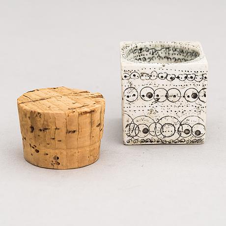 Rut bryk, a ceramic spice jar, signed bryk.