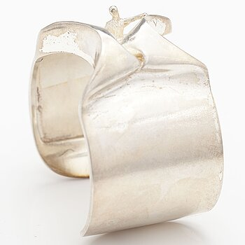 "BJÖRN WECKSTRÖM, A sterling silver bracelet ""Man from Mercurius"". Lapponia 1970."