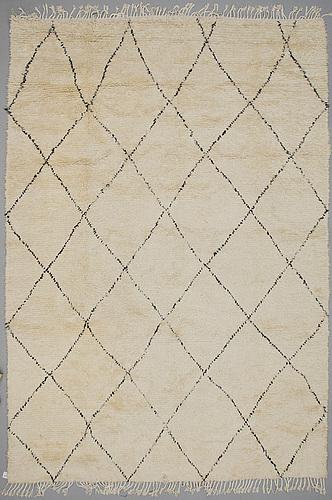 A rug, berber, ca 425 x 292 cm.