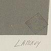 AndrÉ lanskoy, färglitografi, signerad och numrerad, xxxiii/l?.