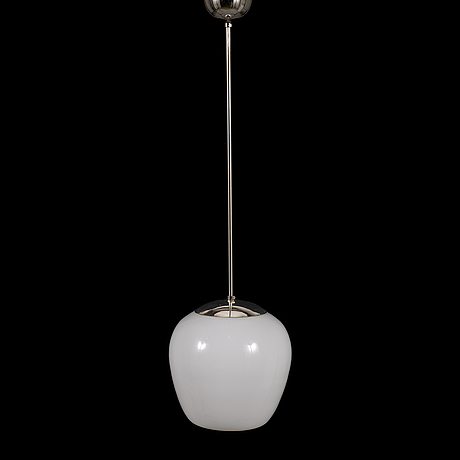 Gunnel nyman, a 1940's pendant '81003' light for idman.