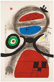 "267. Joan Miró, ""L'aïeule devant la mer""."
