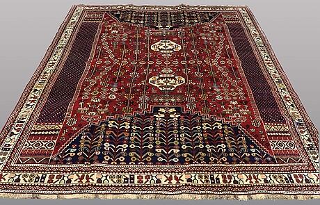 A carpet, kashgai, ca 300 x 215 cm.