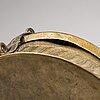A 19th-century brass pandan box, uttar pradesh, india.