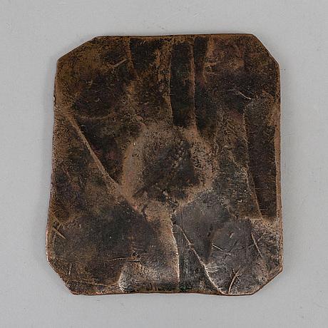 A swedish copper plate money 1713.