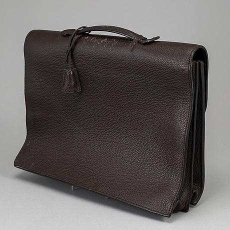 HermÈs, a 'sac à dépêches' leather briefcase, 2008.