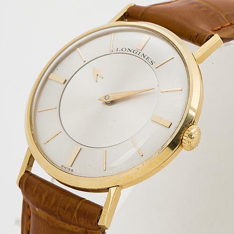 "Longines, ""mystérieuse"", wristwatch, 33 mm."