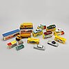A 16 pcs collection of dinky toy cars.